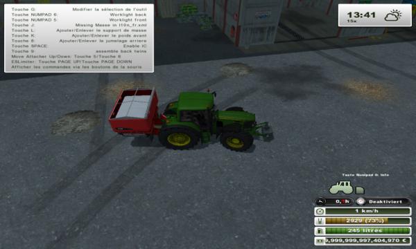 je pars traiter les blés
