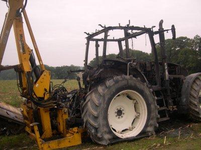 tracteur renault crame de 120 ch