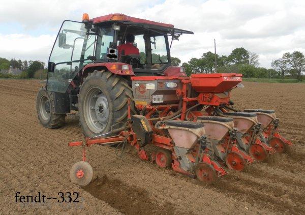Semis de maïs 2014 | chantier n°2
