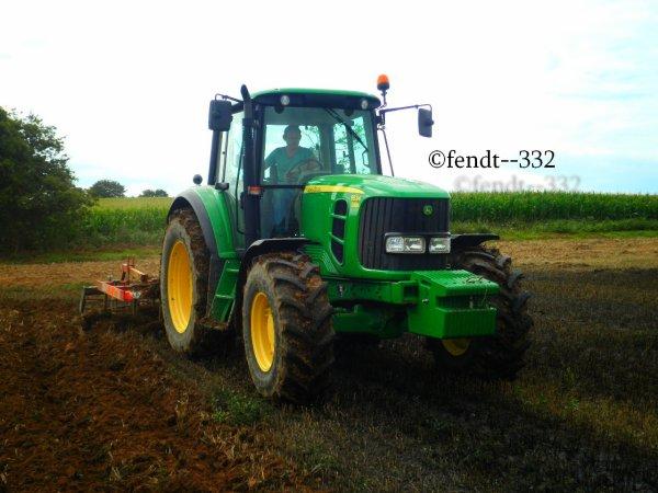 passage du cultivateur sur boue de station 2014