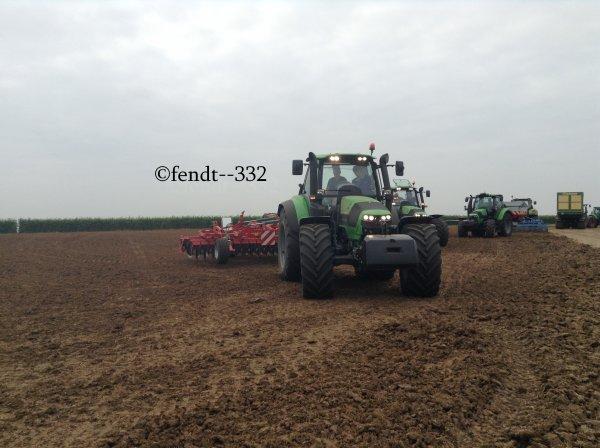 Innov'agri 2014 stand Deutz-Fahr
