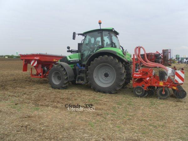 Innov'agri 2014 stand Kverneland