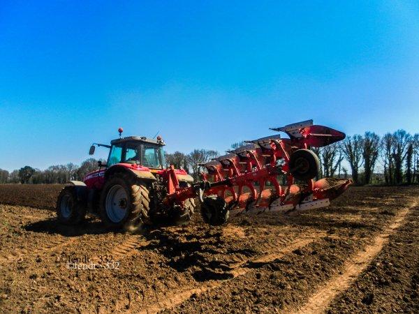 labour pour les terres à maïs 2015