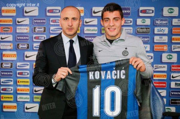 Kovacic (Dinamo Zagreb) à l'Inter