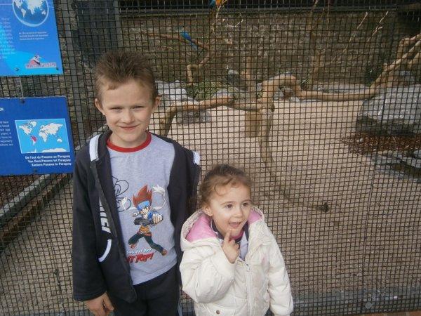 Ma petite soeur et mon petit frère