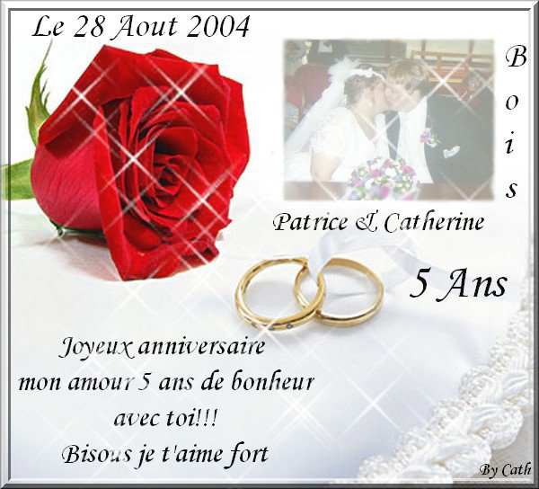 Anniversaire De Mariage 5 Ans Le Sky De Mon Bébé