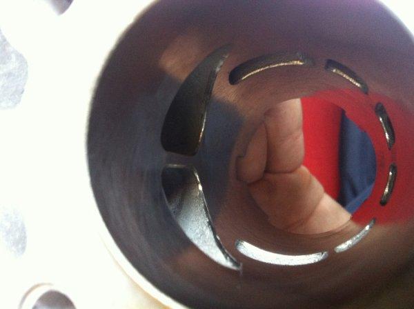 le cylindre vu de l'intérieur