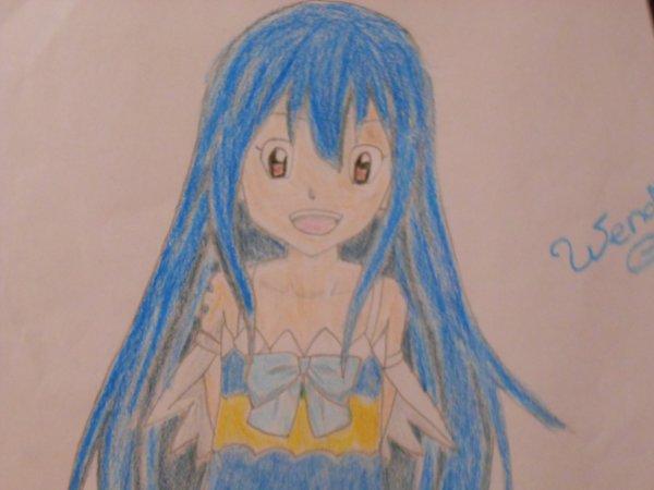 Mon dessin de Wendy Marvell ♥