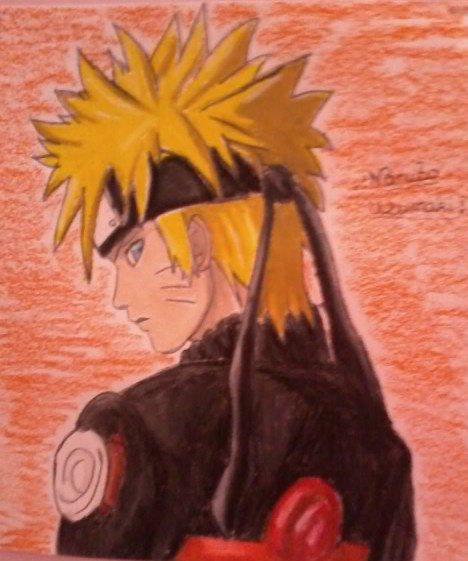 Mon dessin de Naruto Uzumaki
