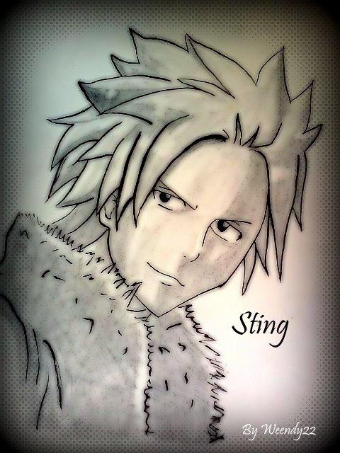 Mon dessin de Sting