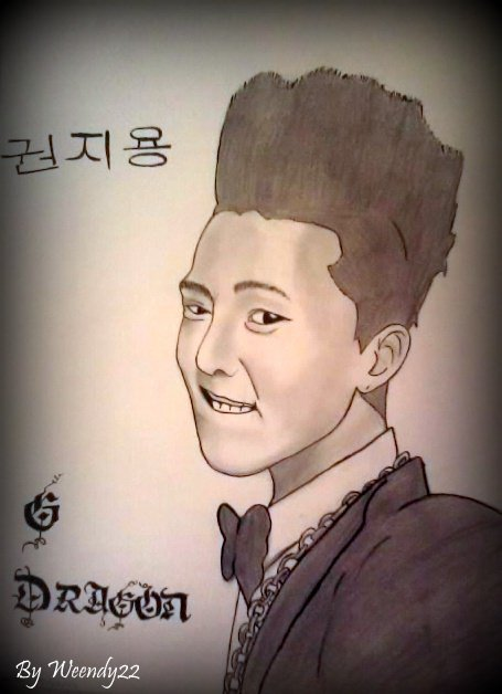 Mon portrait de G-Dragon