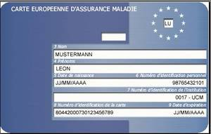 Carte Assurance Maladie Luxembourg.Carte Europeenne De Securite Sociale Direct Infos Ogbl