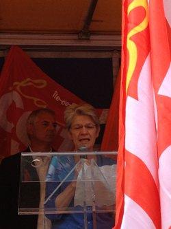 Campagne syndicale européenne contre l'austérité, France