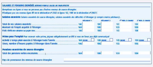 formulaire 2047 a
