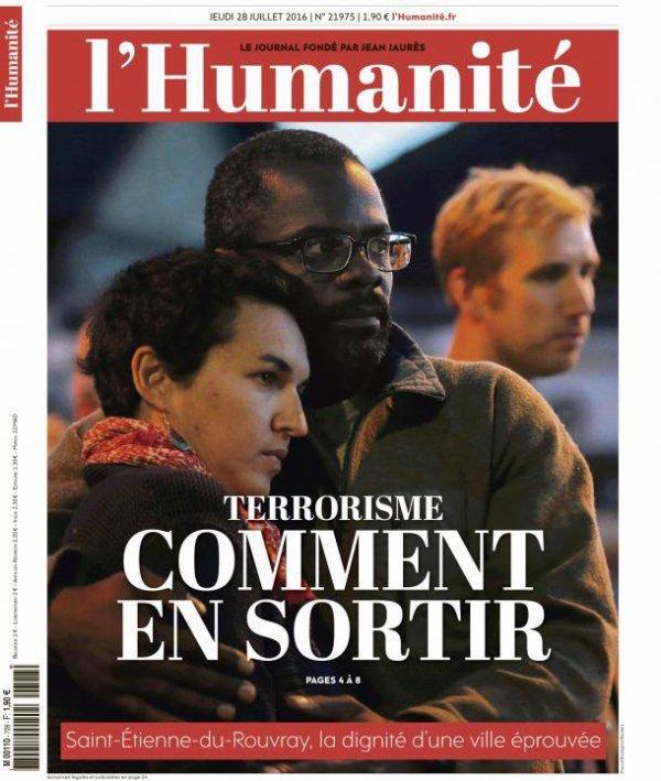 """L'Edito L'Huma du jour : """"Le contraste"""""""