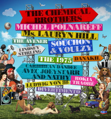 Fête de l'Humanité 2016  Chemical Brothers. Légende sonore