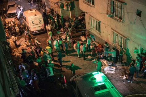 Turquie: des dizaines de victimes lors d'un attentat ciblant un mariage kurde