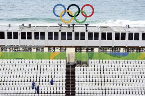 Dans l'envers du décor olympique…