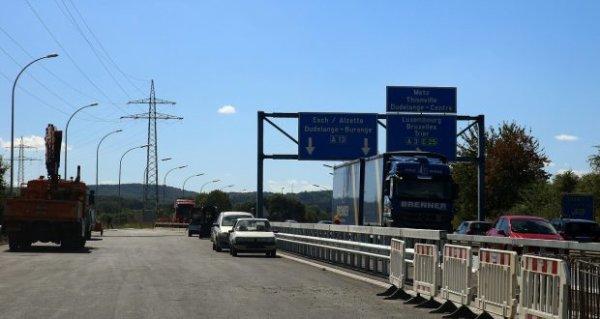 A13 : bye-bye le by-pass de Hellange !