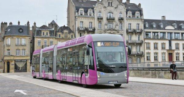 Un « superbus » au sud du Luxembourg, comme le Mettis à Metz