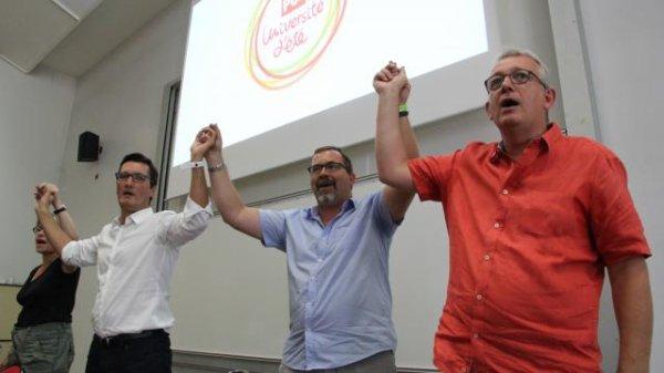 À Angers, l'appel de Pierre Laurent au rassemblement de la gauche