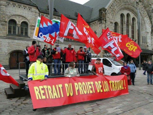 Déclaration commune CGT, FO, FSU, Solidaires, UNEF, UNL, FIDL Un mauvais projet de loi devient une mauvaise loi !