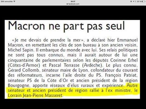 Macron par ici, Macron par là.... Vidéo André Chassaigne