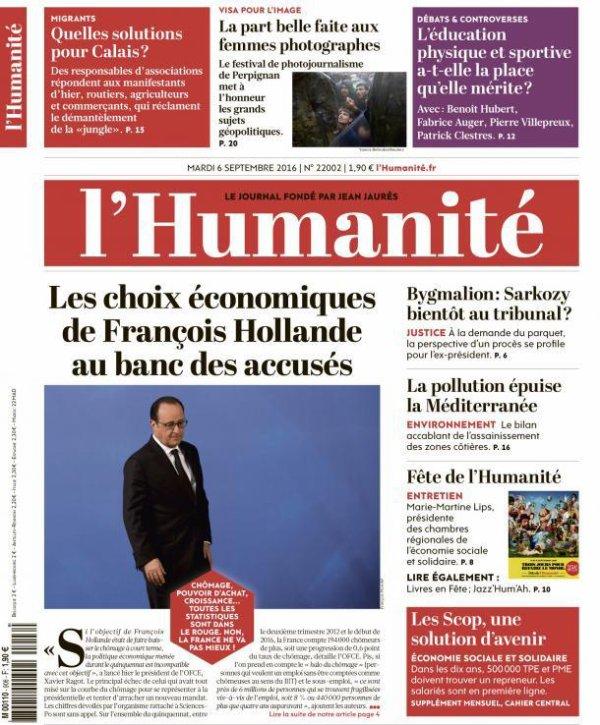 """L'Edito L'Huma du jour : """"Les sujets qui fâchent"""""""