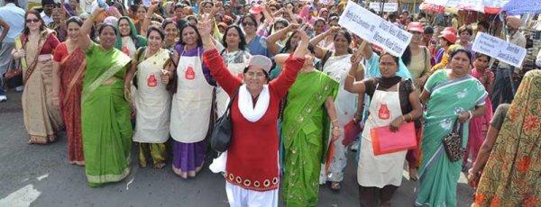 Inde : Le gouvernement devrait prêter attention au message envoyé par la grève générale (CSI)