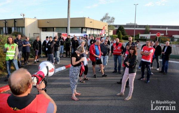 Villers-la-Montagne : les employés de FVM bloquent leur usine
