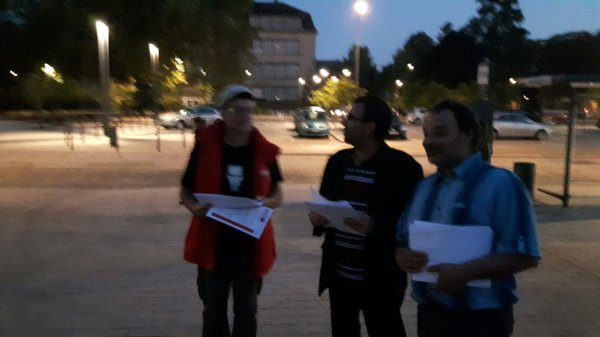 Distribution tracts OGBL gare de Thionville