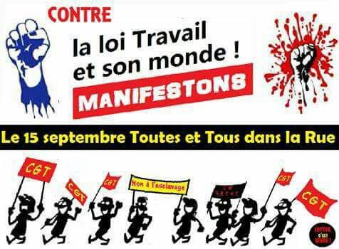 Mobilisation 15 septembre.