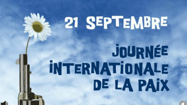 21 sept. journée internationale de la Paix, Thionville