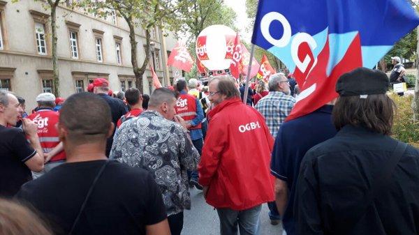 Manif Metz contre la loi travail