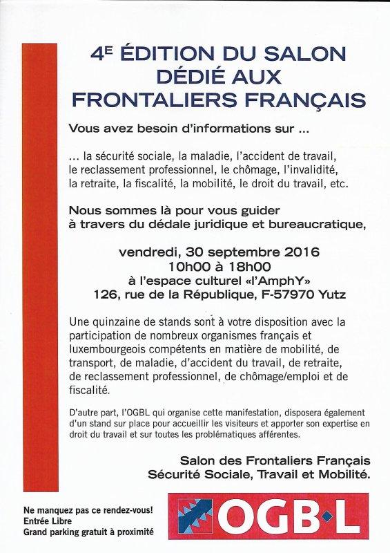 OGBL Thionville-Metz, militants moblisés UCKANGE