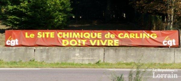 social sur la plateforme de saint-avold-carling  La banderole qui fait polémique