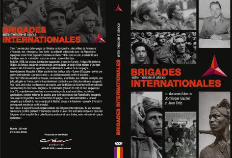 Documentaire « Brigades Internationales. Entre mémoire et silence » de Dominique Gautier et Jean Ortiz