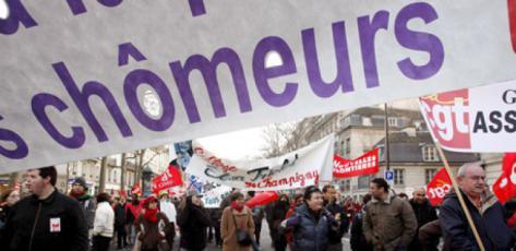 De fait, le chômage ne cesse de progresser en France