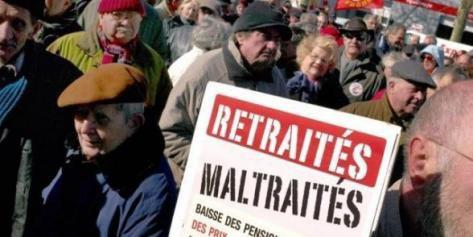 Alerte des syndicats sur le pouvoir d'achat des retraités