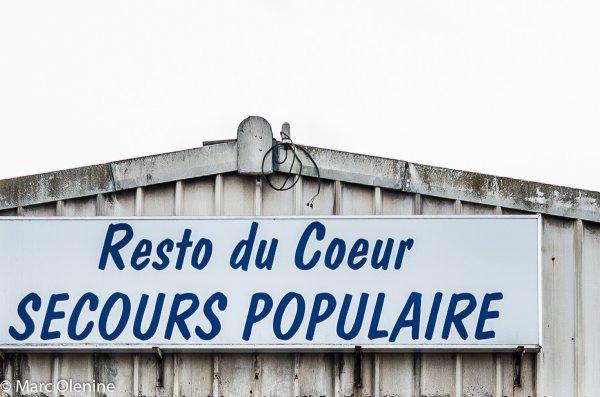 Hayange, soutien au Secours Populaire Français
