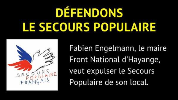 Pétition pour soutenir le Secours Populaire à Hayange (mis à jour)