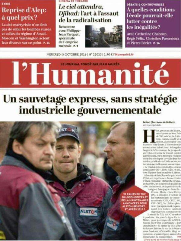 """L'Edito L'Huma du jour : """"Loin du compte"""""""