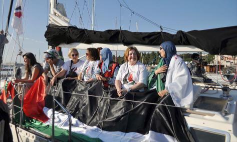 """Gaza. Le """"bateau des femmes"""" intercepté par l'armée israélienne"""