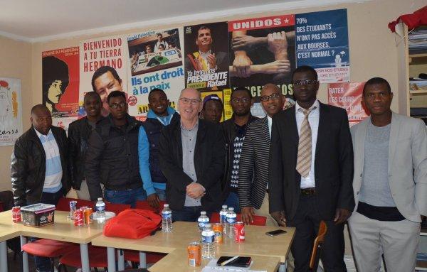 Jacques Maréchal  Première rencontre avec les responsables d'Africa 57.