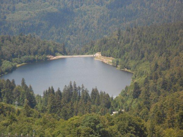 La route des crêtes Le barrage de La Lande, Le Markstein et le Col de la Schlucht