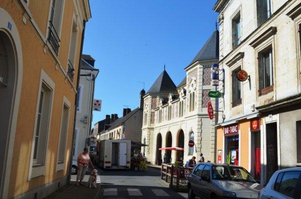 Visite de Saint Calais
