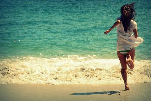 Cours et ne t'arrête pas. Sache que le bonheur n'attend pas.