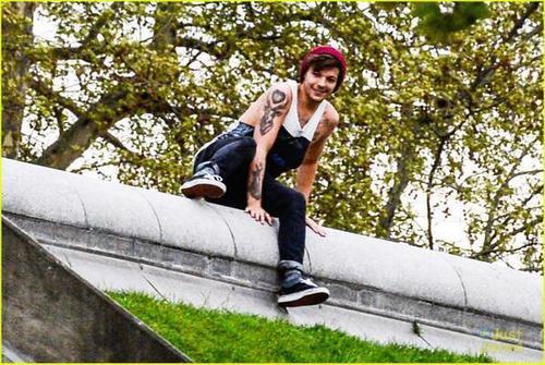 Louis a Paris