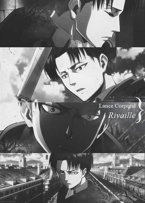 Personnage de Shingeki No Kyojin : Caporal Rivaille