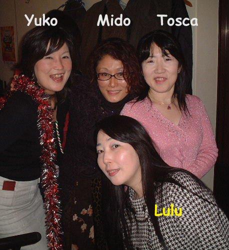 SOUVENIRS...YUKO, MIDO,TOSCA, LULU